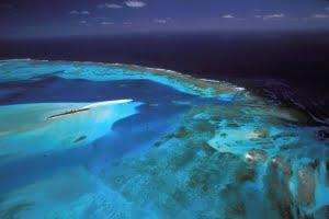 Nieuw Caledonië zeilen Barrirede corail