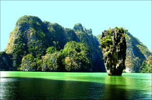 Zeilvakantie in Thailand - James Bond Island Phang-Nga